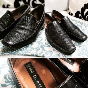 MEZLAN Shoes Italian Leather Shoes Sz 10.5M GUC